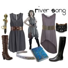River Song: the gray dress