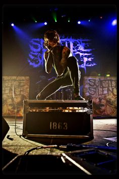 In our hearts forever Mitch :) Music Is Life, Live Music, My Music, The Word Alive, Mitch Lucker, Escape The Fate, Tv Show Music, Band Photography, Asking Alexandria