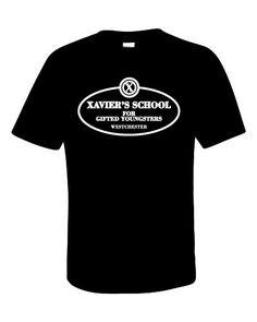 Xavier school for gifted youngsters Shirt by Specktatertees on Etsy https://www.etsy.com/listing/215713011/xavier-school-for-gifted-youngsters
