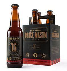 Gediegenes Understatement von Red Brick mit Brick Mason. - Lerne unsere 6 Klassiker deutscher Bierkunst in ebenfalls atemberaubender Verpackung kennen: www.braumeister-selektion.de
