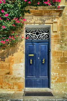 Malta is home to some of the most beautiful doors in the world. Make a great first impression on clients with a fantastic front door like this.