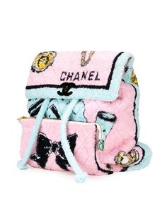 Chanel Vintage jumbo pile backpack                                                                                                                                                                                 More