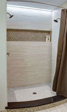 "This niche is 51""-54"" off the floor and is built across the back of a 58 1/2"" wide shower."