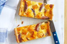 Spoil mum with the perfect morning tea this Mother's Day. She deserves it. Pumpkin, sage and parmesan tarts. Tart Recipes, Cheese Recipes, Baking Recipes, Quiche Recipes, Savoury Recipes, Healthy Recipes, Easy Shortcrust Pastry Recipes, Tacos, Savory Tart