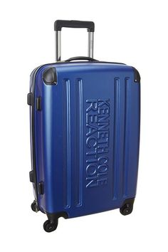 93ff1be7ce9d Kenneth Cole Reaction 24 4-Wheel Upright Pullman (Cobalt Blue) Pullman  Luggage -