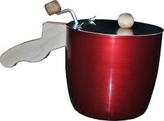 CaseyPop USAspun Stovetop Popcorn Popper (Red) ** Details can be found by clicking on the image.