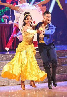 Danica McKellar and Valentin Chmerkovskiy performed an encore of their week 5 Quickstep routine on #DWTS Season 18 Week 10 Finale (5/20/14)