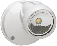 Brookdale White LED 1-Light 11 1/2-Inch-H Security Light - #EU3R696 - Euro Style Lighting