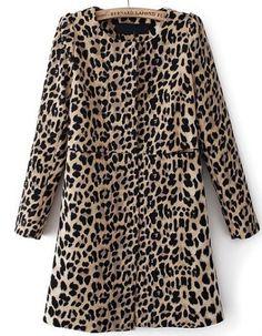 This amazing leopard coat is under $50!!!