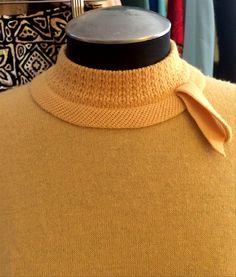 Vintage Jantzen Sweater 36 Bust Great Goldenrod by BarbeeVintage