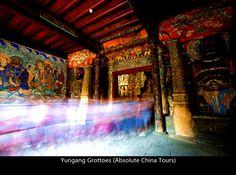 Yungang Grottoes http://www.absolutechinatours.com/Datong-attractions/Yungang-Grottoes-2923.html