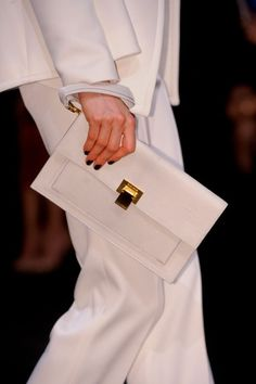 Elie Saab FW 2013/ White/ Bag