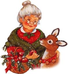 Mrs. Santa Claus  quotes and poems | SANTA CLAUS