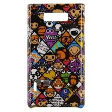 Custodia LG Optimus L7 - Hard Shell - Cartoons 2  € 4,99
