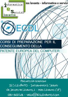 #corsi preparazione per #ECDL. #levanto #laspezia #ieslevanto
