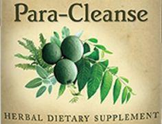 Natural Herbal Tincture Para-Cleanse Formula Health Supplement Colon Cleansing Detoxifying Detox Formula Tonic Organic Certified USA