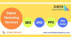 Zenith Digital Agency - A Leading 360 Degree Digital Marketing Agency with hundreds of satisfied clients accross the Globe. Call us - Digital Marketing Services, Email Marketing, Internet Marketing, Web Development Company, Design Development, Seo Sem, S Mo, Web Design, Coding