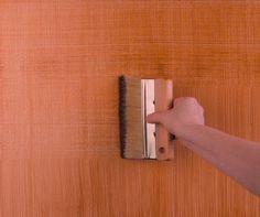 Linen Texture Paint Technique | Decorative Paint Techniques for Bedroom Walls