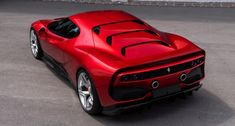 "Welcome to the latest one-off Ferrari. The – which uses the chassis and running-gear from a 488 GTB – was built for ""one of Ferrari's most dedicated customers"" who has a ""deep passion for racing"". Luxury Sports Cars, New Sports Cars, Exotic Sports Cars, Sport Cars, Exotic Cars, Ferrari 488, Ferrari Mondial, Audi, Automobile"