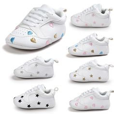 fada5699c628 New Spring 2017 Baby Boy Shoes Embroidery Star Girl Toddler Baby Shoes  Newborn Sports Shoes Sapatos