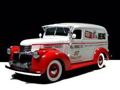 "specialcar: "" 1941 Chevy Suburban ; Heinz """