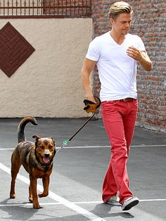 Derek Hough. He can sing, act, dance, and is absolutely handsome!