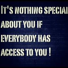 Special = EXCLUSIVE. #Cool101 #RespectYourself #ValueYourself