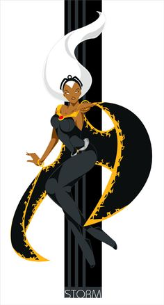 comicbookwomen: Storm - 2 - by lsyw - the WHEELHOUSE