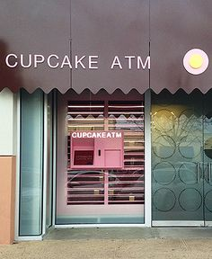 Sprinkles Cupcakes ATM Dallas - and just a few miles from our apartment! My diet plan just went on hold.