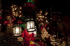 Dyker Heights Lights by Ennuipoet * FreeVerse Photography