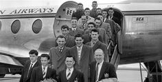 The Busby Babes in 1955.