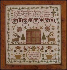 Hannah Tingey - Cross Stitch Pattern