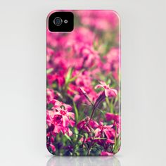 Through the Pink iPhone Case by Laura George - $35.00