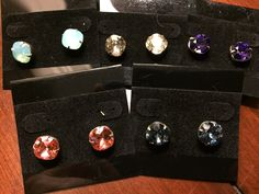 A personal favorite from my Etsy shop https://www.etsy.com/listing/510237791/swarovski-crystal-earrings-10-mm-cushion