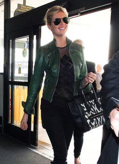 Kate Upton Leather Jacket