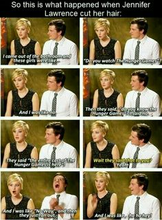 Funny pictures about Unrecognized Jennifer Lawrence. Oh, and cool pics about Unrecognized Jennifer Lawrence. Also, Unrecognized Jennifer Lawrence. Hunger Games Memes, Hunger Games Cast, Hunger Games Fandom, Hunger Games Trilogy, Friend Quotes For Girls, Funny Girl Quotes, Hilarious Quotes, Humor Quotes, Jenifer Lawrance