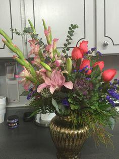 A birthday bouquet