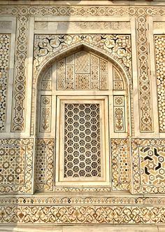 Baby Taj Mahal.  Tomb of Itimad-ud-Daulah.