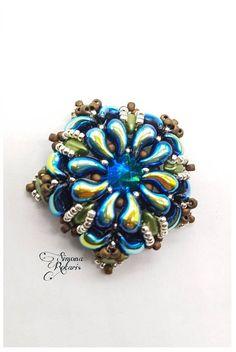 Guarda questo articolo nel mio negozio Etsy https://www.etsy.com/it/listing/518835100/zoliduo-and-diamond-duo-pattern-schema  #Zoliduo #beads #pattern