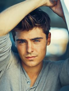 zac efron. he just keeps getting more attractive