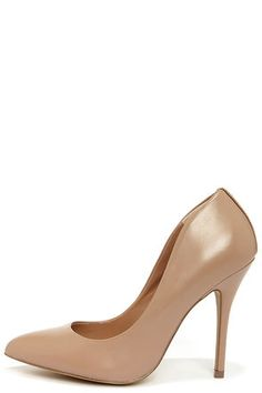 Basic nude pumps go with everything! #featuredpin