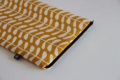MacBook Air 11* Notebook Tasche aus Bio-Baumwolle von m a d e b y b i r d i e auf DaWanda.com