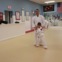 While on a little downtime I have taken up Karate with my son James thanks to my mom's suggestion. It has been a true father/son bonding experience. Love watch this little guy grow into such a good, respectful young man. #proudfather