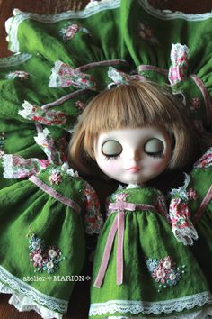 Blythe clothes - atelier Marion