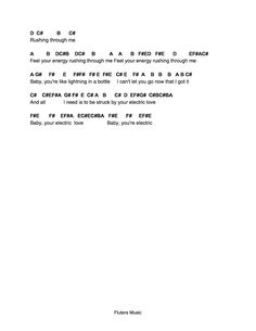Flute Sheet Music: Electric Love Free Flute Sheet Music, Keyboard Sheet Music, Viola Sheet Music, Clarinet Sheet Music, Cello Music, Music Sheets, Piano Sheet Music Letters, Piano Music Notes, Kalimba