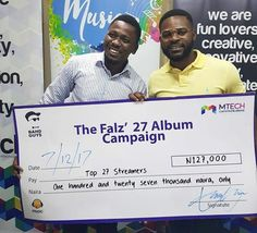 Falz To Give Twenty Seven Fans One Hundred And Twenty Seven Thousand Naira For Streaming His 27theAbulm Video