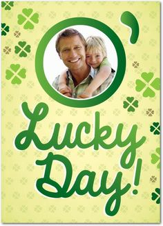O'Lucky Day - St Patricks Day Cards in Custard | Magnolia Press