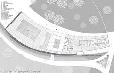floor plan public swimming pool grey design architecture plan