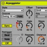 Using the Arpreggiator and Generating Chords and Scales in Ableton Live  https://www.ableton.com/en/blog/2012/02/15/deep-house-chord-generator-new-tutorial-and-free-rack-ski-oakenful/