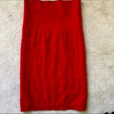 Bebe Body con skirt Like new because I've never worn it. Excellent condition. bebe Skirts Midi